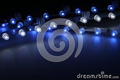 Lichte staven