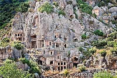Lician tombs