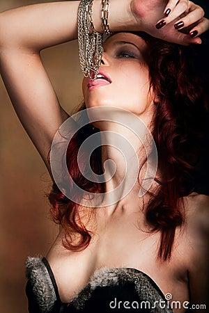 Licking bijou
