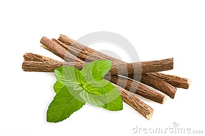 Licorice and mint