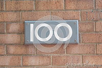 Liczba 100