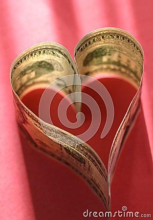 Liebe des Geldes