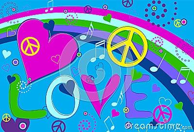 Liebes-Frieden und Innere