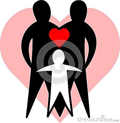 Liebevolle Familie/ENV