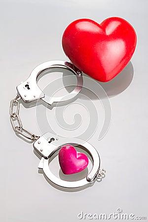 Liefde in handcuffs