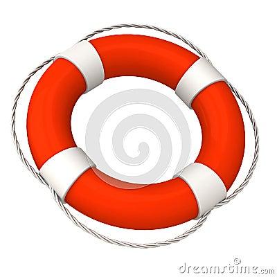 Life buoy 3d