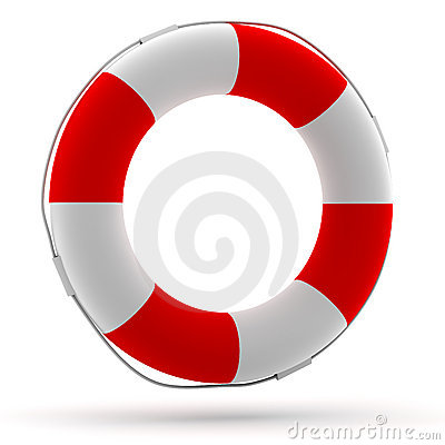 Life buoy front view