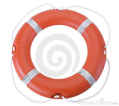 Free Life Buoy / Life Preserver Royalty Free Stock Photo - 3446305