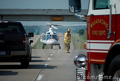 Life Flight Rescue 3 Editorial Stock Photo