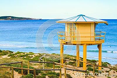 Life Guard Beach Hut