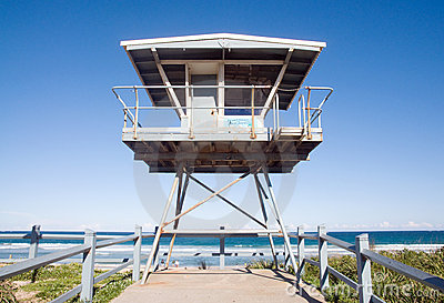 Life guard house