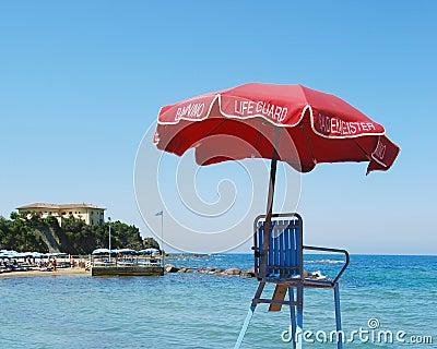 Life Guard Umbrella