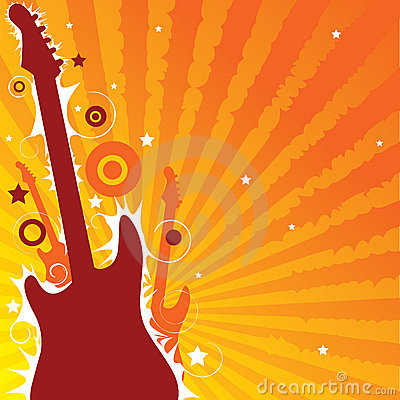 Free Life Guitar Play Stock Photos - 2993563