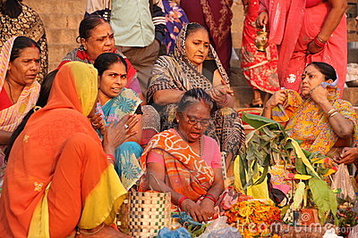 Life in India Editorial Photo