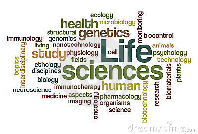 Life sciences - Word Cloud