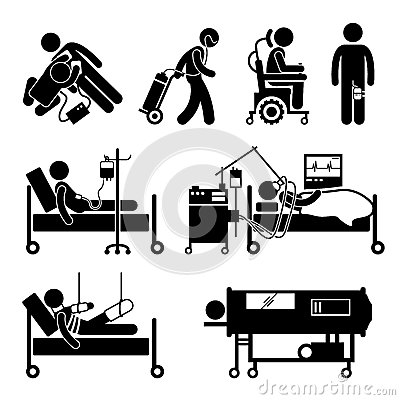 Free Life Support Equipments Cliparts Icons Royalty Free Stock Photo - 44789335