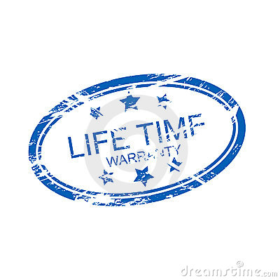 life time guarantee (vector)