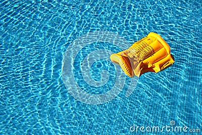 Life vest floating