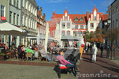 Life in Wismar Editorial Photography
