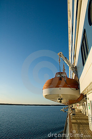 Free Lifeboat On A Cruise Ship Royalty Free Stock Photography - 2316797