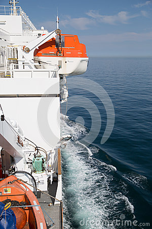 Free Lifeboat On The Ship Stock Image - 50952521