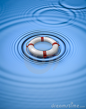 Free Lifebuoy Ring Preserver Water Royalty Free Stock Photos - 7280788
