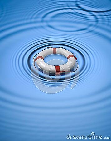 Lifebuoy Ring Preserver Water