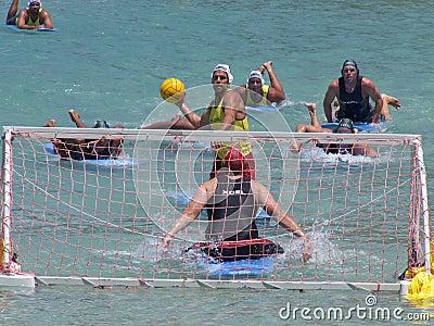 Lifeguard Blast Editorial Stock Photo