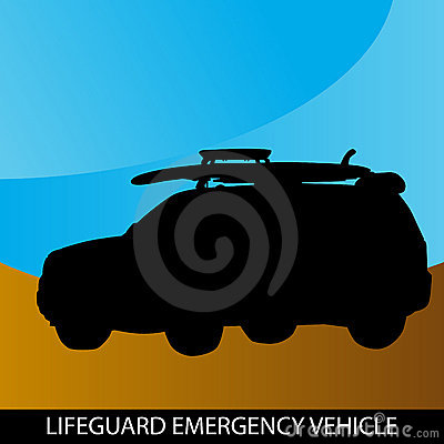 Lifeguard Emergency Vehicle