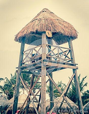 Free Lifeguard Hut Royalty Free Stock Photo - 52010715