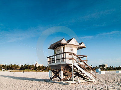 Lifeguard Post Royalty Free Stock Photo - Image: 9237215