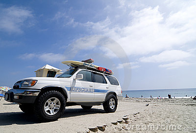 Lifeguard Rescue Truck