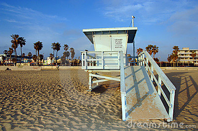 Lifeguard Station Royalty Free Stock Photography - Image: 15732137