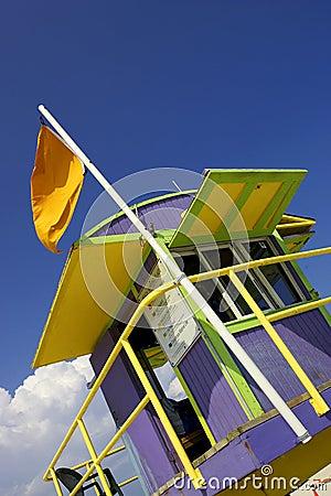 Free Lifeguard Station Stock Photo - 361980