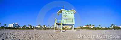 Lifeguard Station at South Beach