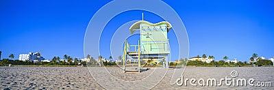 Lifeguard Station at South Beach