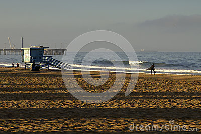 Lifeguard Station at Venice Beach, California