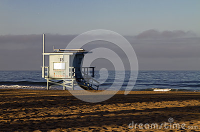 Lifeguard Station at Venice Beach, California