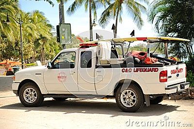 Lifeguard Truck Editorial Image