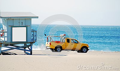 Lifeguard Truck and Stand