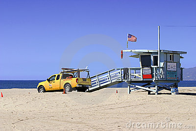 Lifeguard Vehicle And Tower