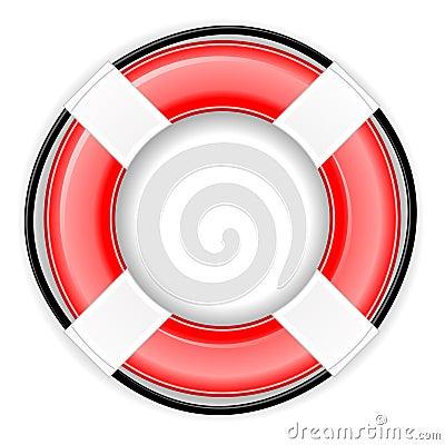 Lifesaver Icon EPS