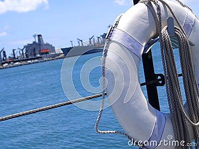 Lifesaver on Submarine