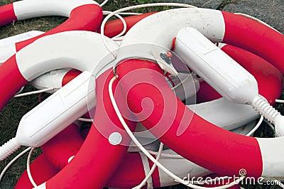 Lifesaving buoys
