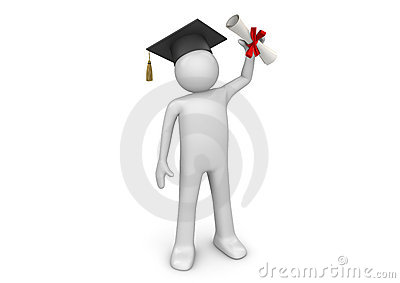 Lifestyle - Graduating student with diploma