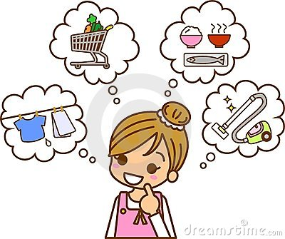 Lifestyle housewife