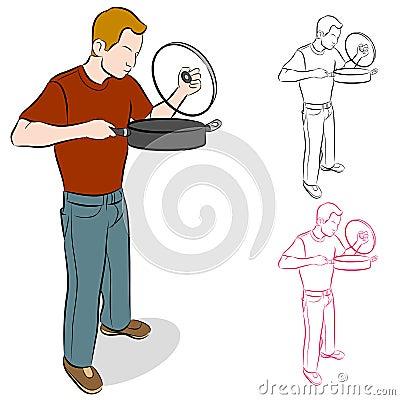 Lifting Cooking Pan Lid