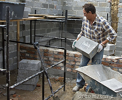 Lifting heavy blocks