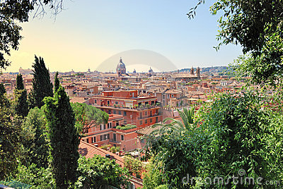 Liggande rome