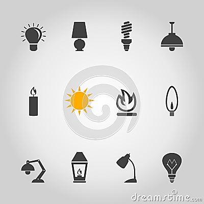 Free Light An Icon Stock Photos - 38339173